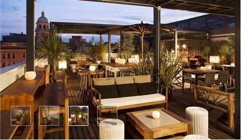 Hotel pulitzer barcelona spanien stylische cocktails for Stylische hotels