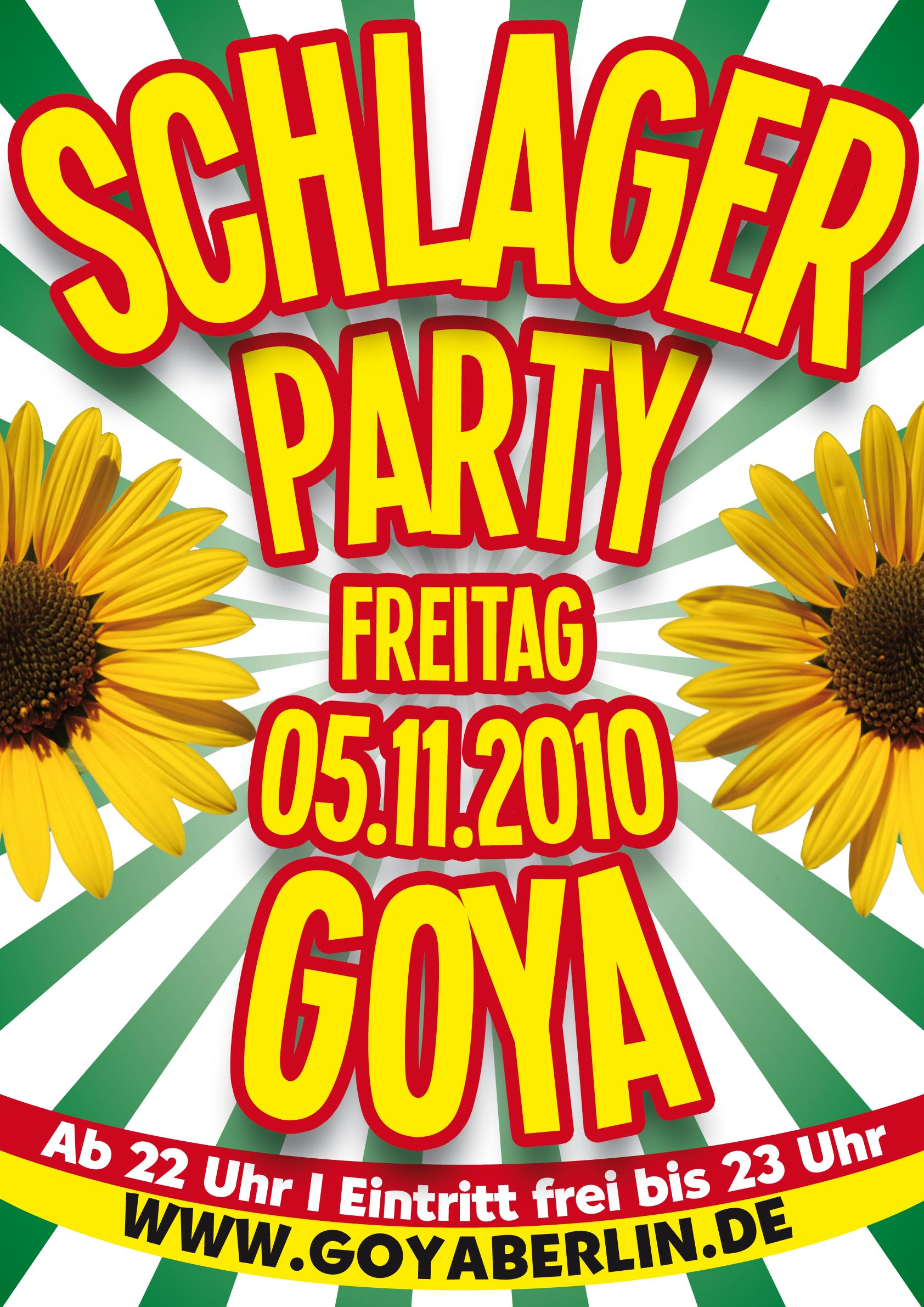Goya berlin single party