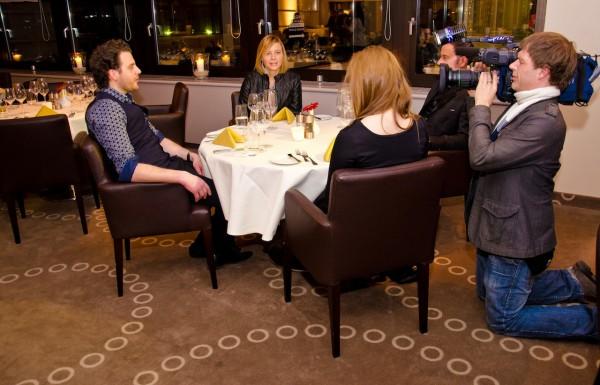 ZDF DREH 2012 Berlin Concierge Wilsons Prime Rib Restaurant Florian Spranger