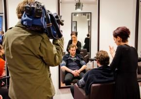 ZDF DREH Hallo Deutschland 2012 Berlin Concierge D. Machts Group Styling Florian Spranger