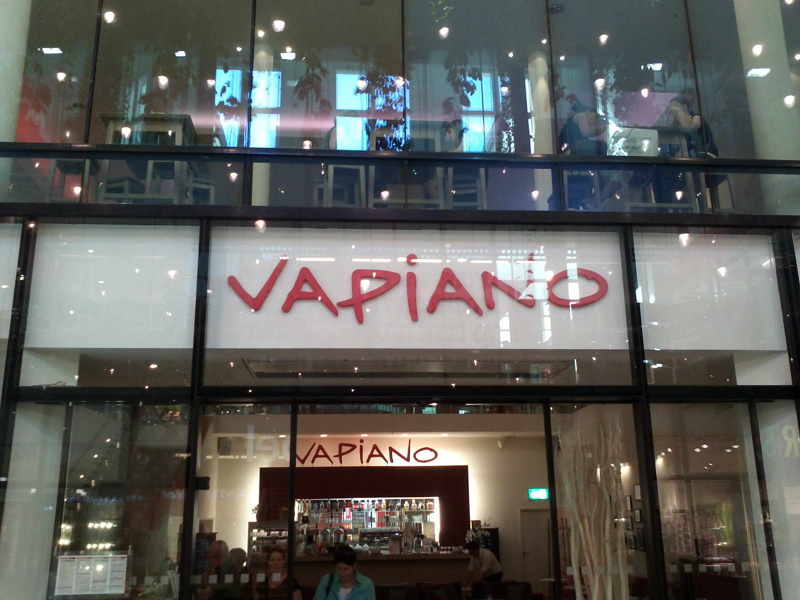 Vapiano Pasta, Pizza und Bar - Restaurant nähe Marienplatz Fünf Höfe ...