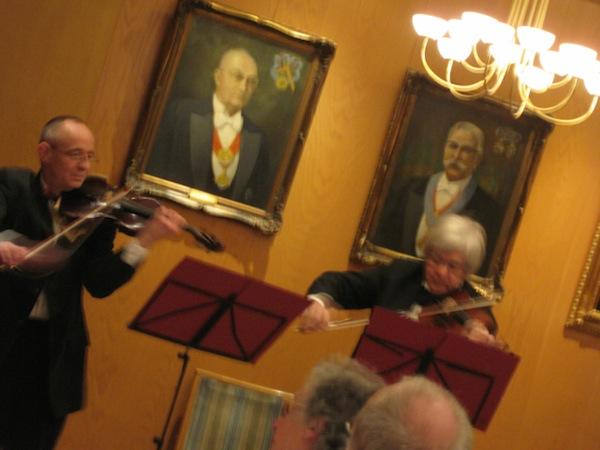 Loge Musik Abend Logenhaus Freimaurer Prof. Jürgen Rasinski