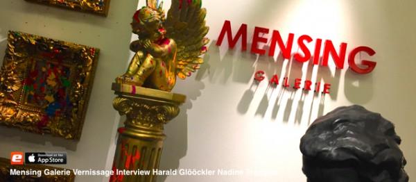 Mensing Galerie vernissage harald glööckler galerie mensing