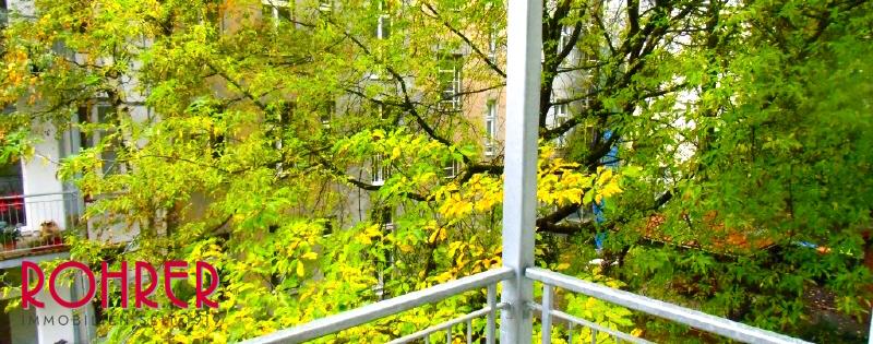 Balkon hof Gartenhaus Steglitz Altbau Concierge Rohrer Immobilien Voderhaus Eigentum Wohnung Oktober 2015