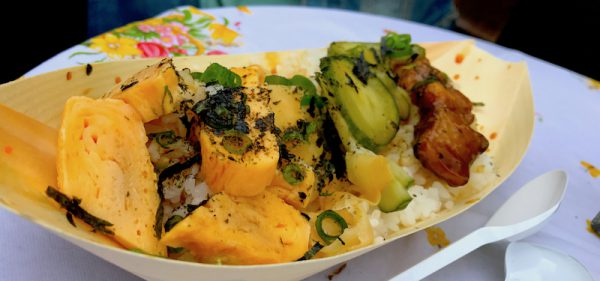 2017 Eier gebraten Vegan Vegetarisch Sushi Festival Leo Veranstalter Birgit Bier Club Visionaere Treptow Kreuzberg Berlin Pfingsten