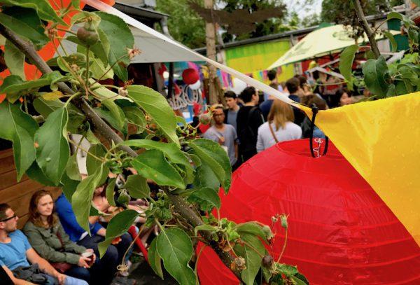 2017 Relaxen Pause Sushi Festival Leo Veranstalter Birgit Bier Club Visionaere Treptow Kreuzberg Berlin Pfingsten