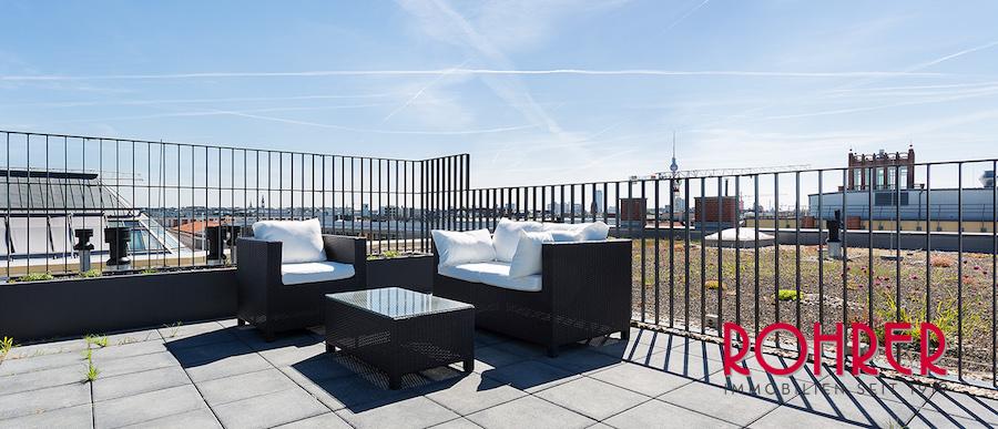 Dachterrassen Berlin rooftop dachgeschoss wohnungen und bars folgen einem penthouse trend