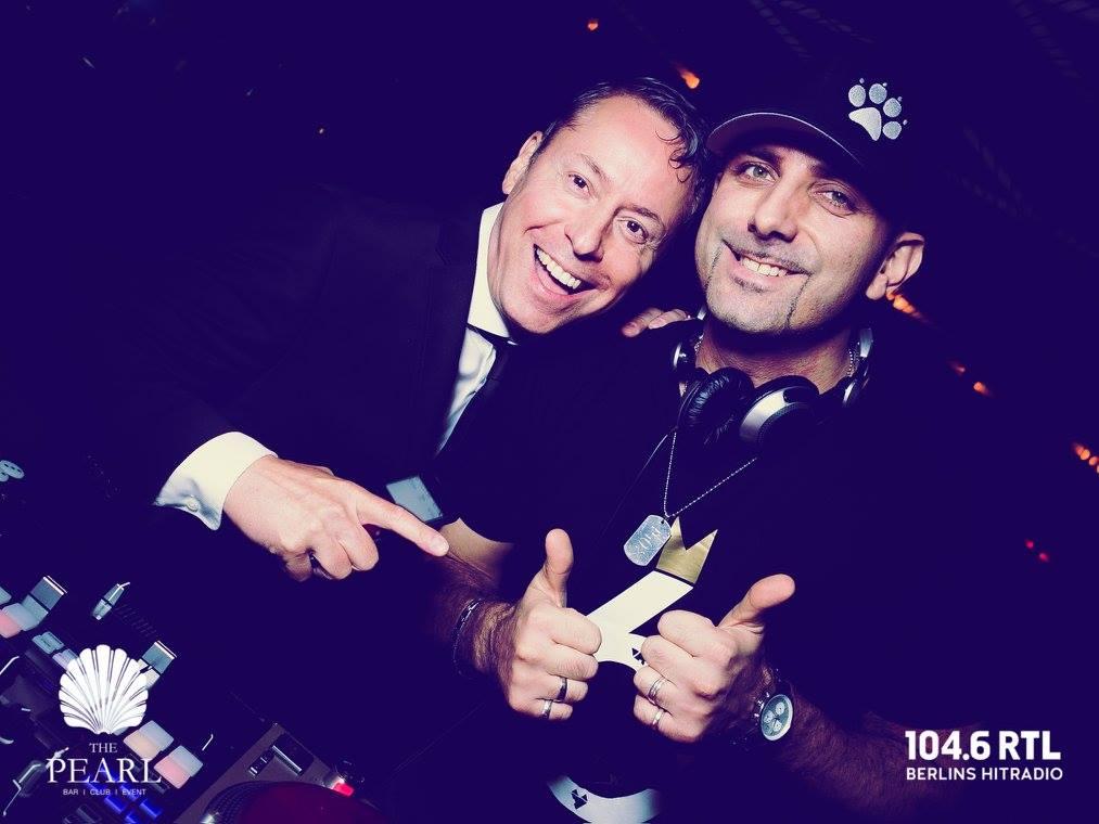 Afterwork Gerry Concierge DJ Carsten Fox 90er Jahre Top Hits Mega Party Pearl Berlin