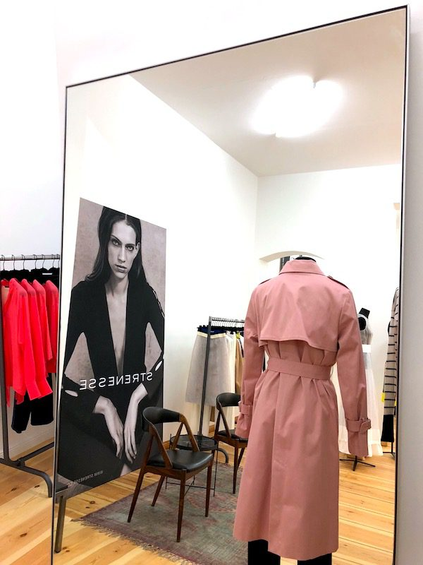 Spiegel Showroom Heckmann Hoefe Strenesse Popup Laden Geschaeft Fashion Damen Herren