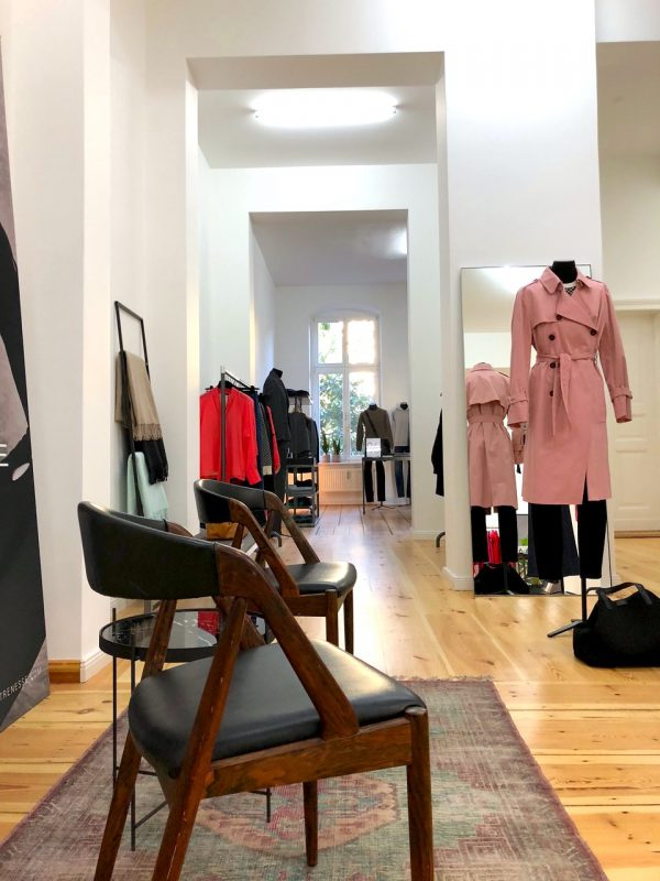 Vielfalt Showroom Heckmann Hoefe Strenesse Popup Laden Geschaeft Fashion Damen Herren