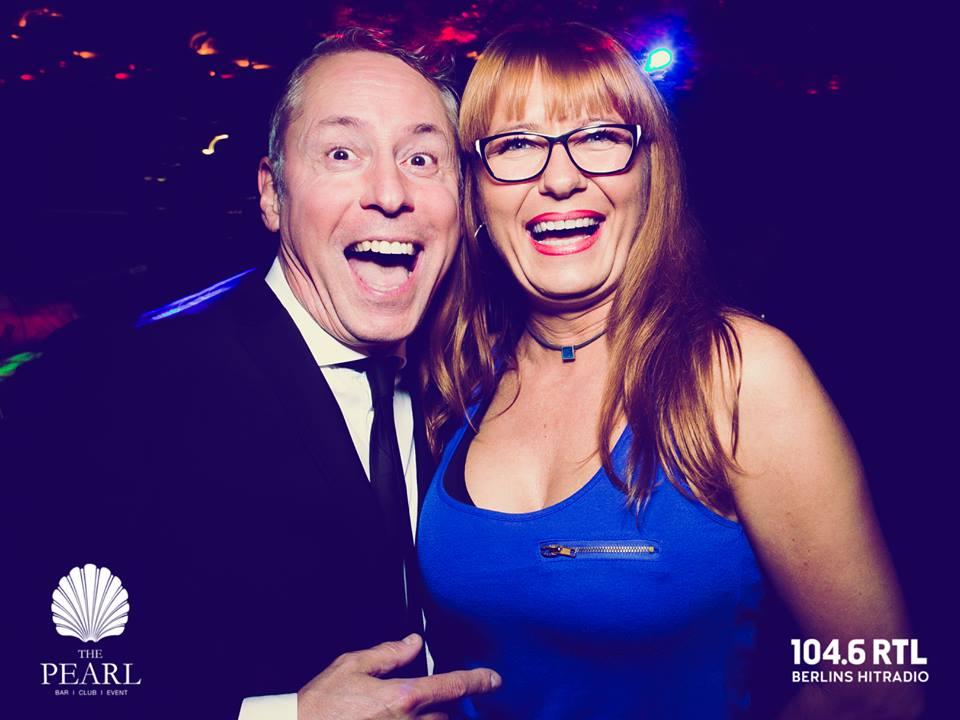 RTL 104,6 Kudamm Gerry Concierge DJ Fox Carsten Noppe Frank Noppinger Gast Dame pic Jan Schroeder