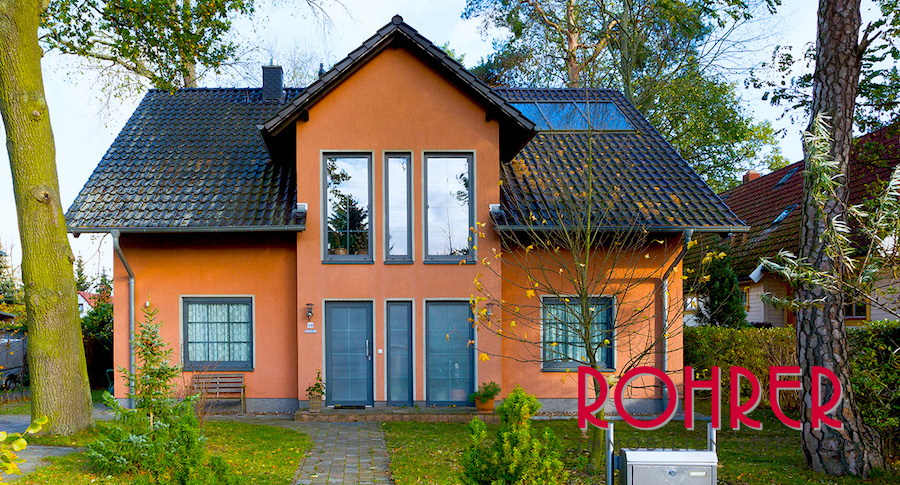 2017 0811 Eingang Fassade Einfamilienhaus Schoenow Kauf Haus Rohrer