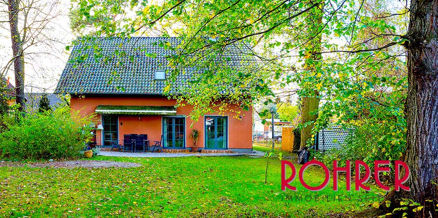 Garten Einfamilienhaus Schoenow Kauf Haus Rohrer Immobilien