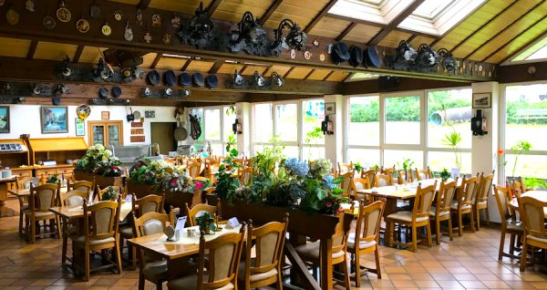 Restaurant Saal AKZENT Hotel Brueggen er Klimp Burgwall Concierge Gerry Kritik
