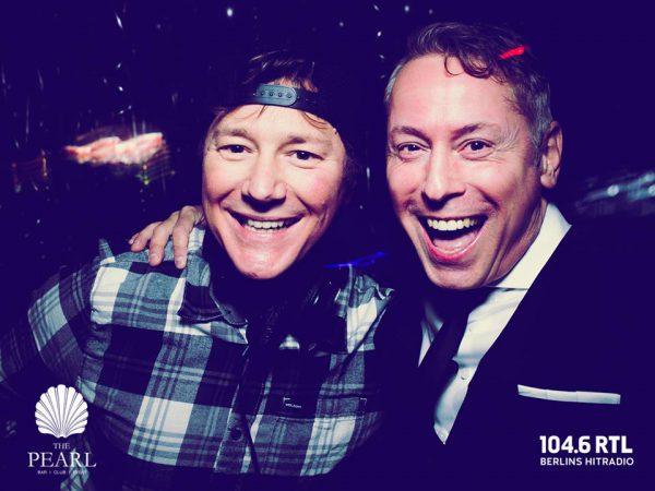 After Work 1046 RTL Pearl Club Berlin Gerry Concierge DJ Noppe Frank Noppinger