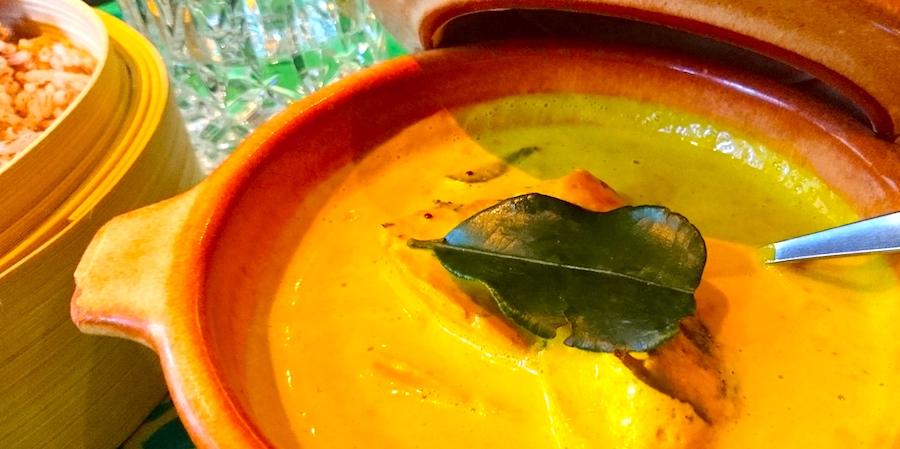Restaurant Mount Lavinia ayurvedisch ceylonesisch Fen Shui Shane Samson Schwertfisch Curry