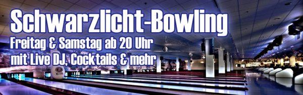 Schwarzlicht Freitag Samstag Bowling Center Schillerpark Bild genehmigt Event Concierge Jannine Krueger