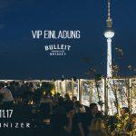 25.11.2017 Samstag ab 22 Uhr – VIP Einladung zu BERLINIZER Bulleit Whiskey im house of weekend mit kostenlosen Eintritt und free Bulleit drinks
