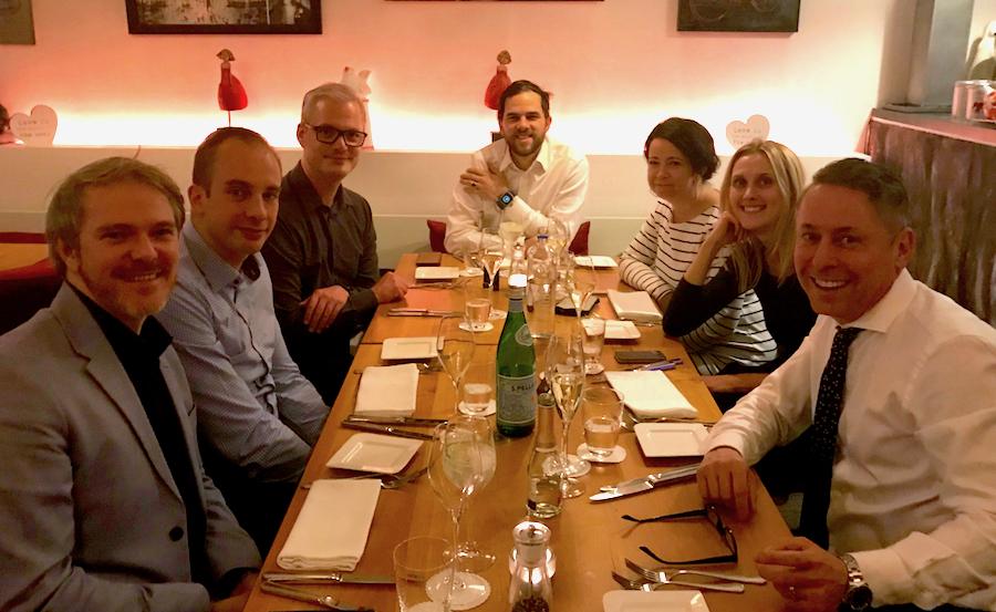 Team Chef Workshop Concierge Mercedes Benz Restaurant Le Bon Choix Maastricht Rechtstraat Joanna Robert Cichecki Gerry