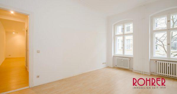 Zimmer Blick Wohnung Berlin Kauf Objekt Bezugsfreie Altbauwohnung Schloss Charlottenburg Kristina Foest Rohrer Immobilien