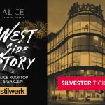 31.12.2017 ab 19 Uhr New Year's Eve Silvester im Alice Rooftop im stilwerk Berlin