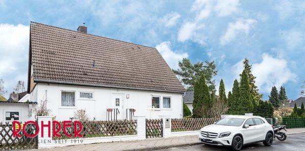 Außenansicht Front 2018 0801 Haus 12349 Berlin Kauf Objekt ID 103064 O 56542 Einfamilienhaus Garten Keller Buckow Marienfelde