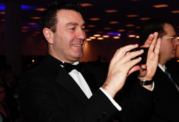 Paolo Masaracchia Hauptstadtball 5 Jahre Jubilaeum DPolG Mercure MOA Berlin Pic Friedhelm Windmueller Boris Novak