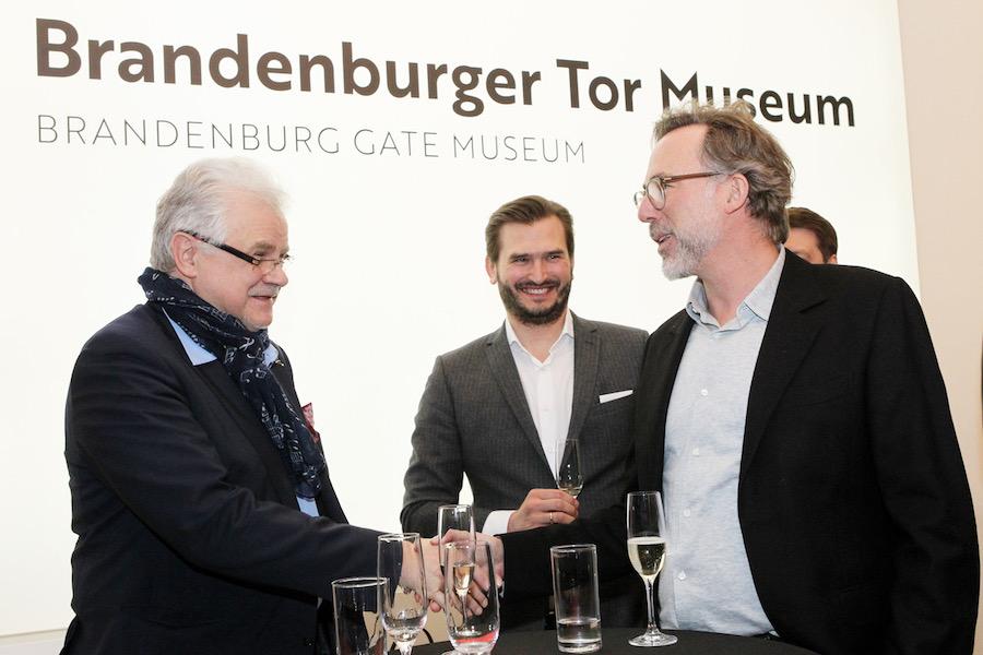 Corvin Tolle Network Brandenburger Tor Museum The Gate Berlin Rohrer RUDI Veranstaltung