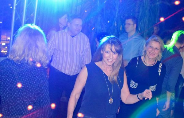 Corinna Bouwer Party AFTER WORK DANCE Europa Center Berlin Puro Gerry Concierge pic Julia Waulin