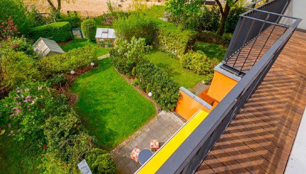 Reihenhaus 14055 Berlin Kauf Objekt ID 104605 O 56637 Aussicht Balkon Terrasse Haus Rohrer Immobilien