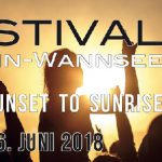 16.06.2018 Samstag FESTIVAL Berlin-Wannsee – Insel Lindwerder – 1 Island, 2 Floors, 9 Labels und 18 DJs International Summer People, LiSTEN UP !
