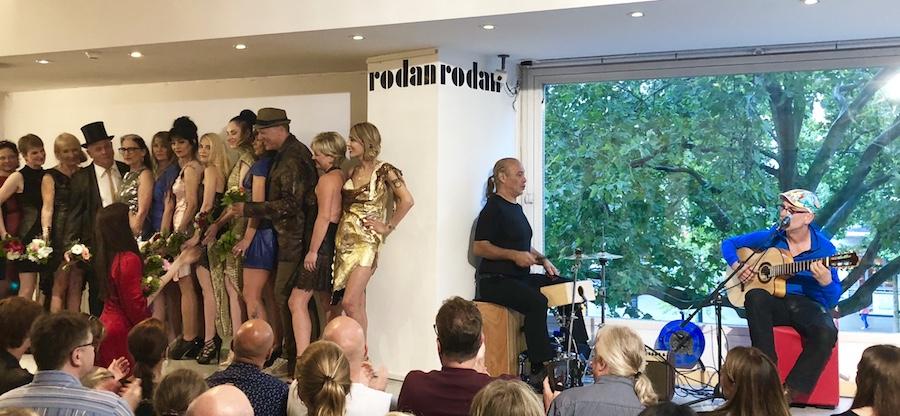 Echo Preistraeger Peter Fessler Live Kunden Modenschau Rodan Lederdesign Fruehjahr Sommer 2018