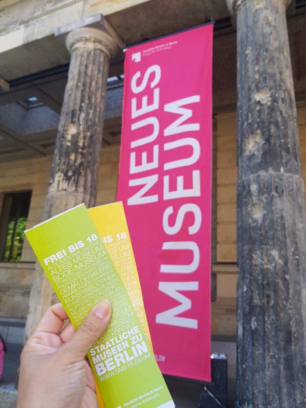 Julia Waulin Museum Berlin Aegypten Sightseeing Nofretete Stuck Gips Eintritt Karten