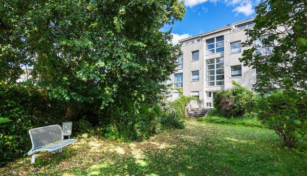 Wohnung 13127 Berlin Pankow Kauf Objekt 105184 O 56670 Kapitalanlage gefragt Wohngegend Rendite Außenansicht Gartenseite