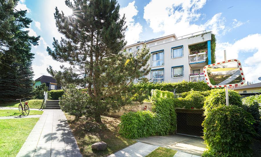 Wohnung 13127 Berlin Pankow Kauf Objekt 105184 O 56670 Kapitalanlage gefragt Wohngegend Rendite Außenansicht Straßenseite