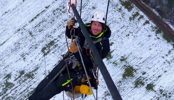 2018 Industrie Kletterer Team Windhunter Ausbilder Mike Prigge Interview Referenz Erfahrung Praxis Weiterbildung