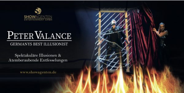 ShowConcierge Frank Berkholz Peter Valance Show VVK Peter Valance Showagenten