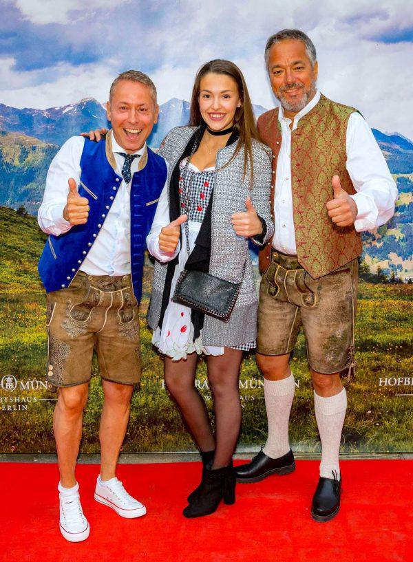 Lena Charles Rettinghaus VIP Support Gerry Concierge Hofbraeu Berlin Oktoberfest 2018 Joerg Unkel Hauptstadtfotografen 180922_Ho_2311