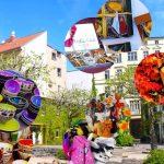 Heckmannhöfe – Herbstmarkt in der Oranienburger Strasse – Erntedank, Altweibersommer oder Goldener Herbst – individuelles Kleinkunst-Handwerk gegenüber des Monbijou Park