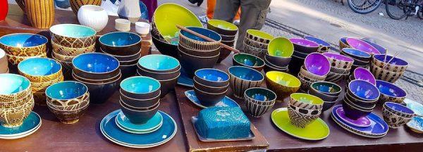 Keramik Handgemacht Handwerk Kunst Berlin Stadtbilder Druck placces Heckmann Hoefe Eileen Schliefke Stand Herbst Fest Hof Erntedank