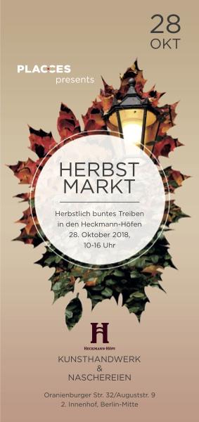 Markt Schokolade Berlin Stadtbilder Druck placces Heckmann Hoefe Eileen Schliefke Stand Herbst Fest Hof Erntedank Berliner