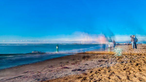 Bilder Ostsee Warnemuende Pic Fotograf Ronny Wunderlich Strand Ufer Wasser Rolf Butschkat OVB Denkmal Gebäude Investition Eigentumswohnung