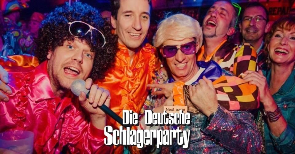 Deutsche Schlagerparty frankie DJ Columbia Damm Theater Flugahfen Tempelhof Gerry Concierge Foto Frank Berkholz