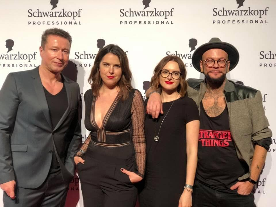 German Hairdressing Award Nominierten Katharina Seel Swetlana Jaschtschenko Stev Toepfer Dennis Machts Group Schwarzkopf L Oreal RedCarpet