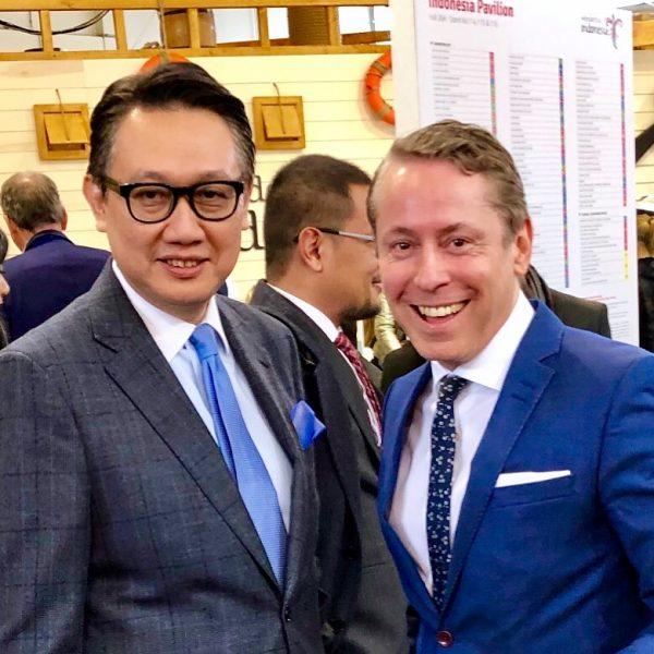 ITB CLASSIC REMISE BERLIN 25 Jahre Staedtepartnerschaft Berlin Jakarta 2019 Botschafter Indonesien, Arief Havas Oegroseno