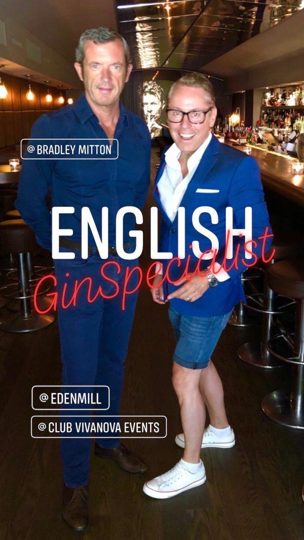 Eden Mill Gin Bradley Mitton Vivanova Wines international Luetzow Bar Berlin Produkt Präsentation