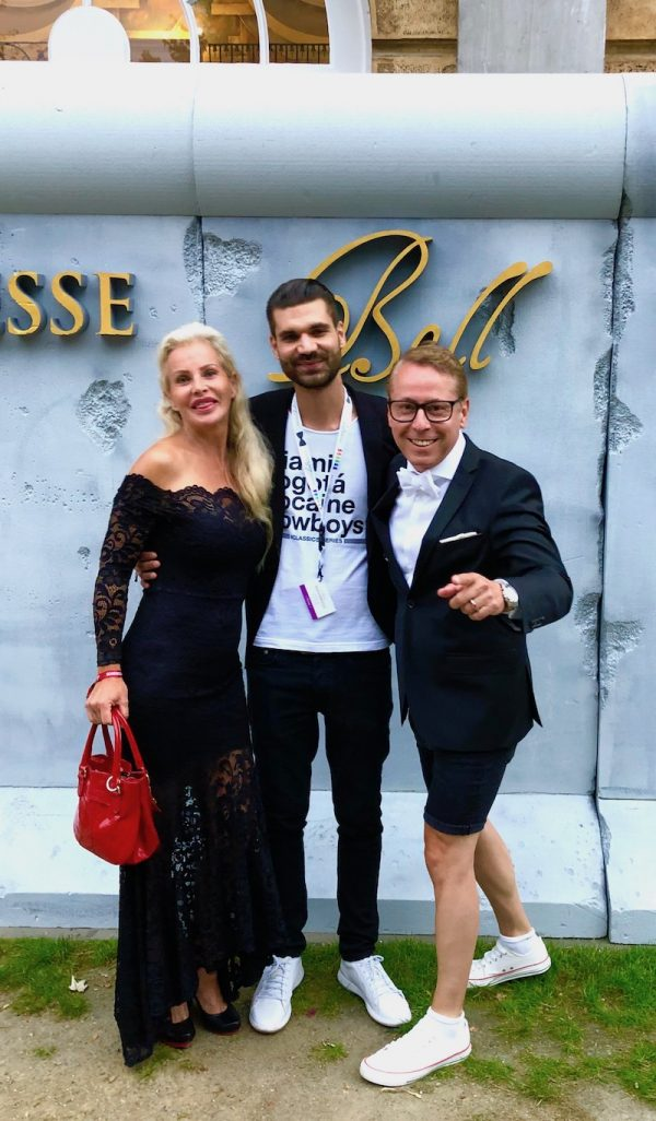 Presseball Berlin Sommergala Schloss Charlottenburg Grosse Orangerie Concierge Gerry Mike Cees