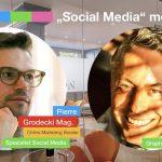 """Mi. 18.09.2019  17h """"Social Media"""" meets """"Blog"""" Pierre Grodecki und Concierge Gerry – Erfahrungen in SEA, SEO und Geschichten der Spezialisten"""