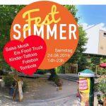 Sa. 24.08.2019 14h-22h – Feiern wir gemeinsam ein Jubiläums-Sommerfest – 5 Jahre Kreativ-Quartier Heckmann Höfe