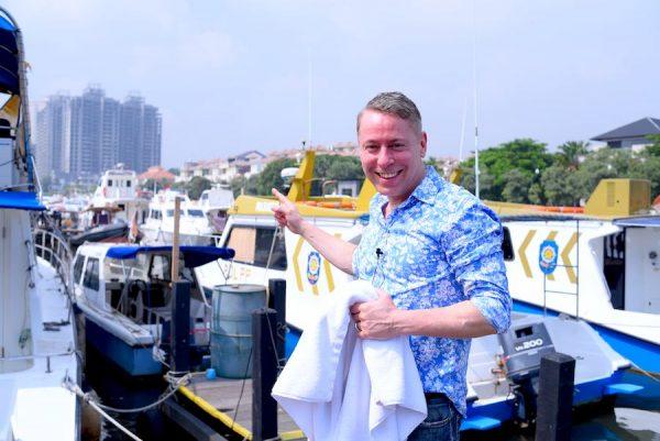 2019 Jakarta Tourism Indonesien Government Indonesia Concierge Trip recommendation Empfehlung Einladung Gerry Botschaft Insel Harbour Marina SpeedBoad Blog